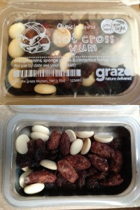 graze hot cross yum