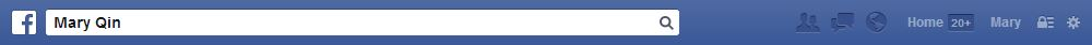 new facebook toolbar with larger search bar and font