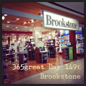 365great challenge day 149: brookstone