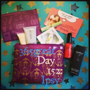 365great challenge day 152: ipsy