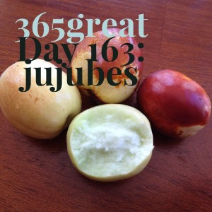 365great challenge day 163: jujubes