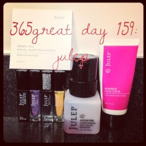 365great challenge day 159: julep
