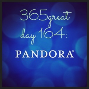 365great challenge day 164: pandora