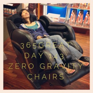 365great challenge day 143: zero gravity chairs