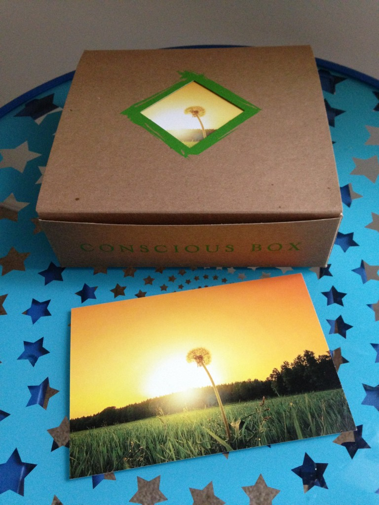 conscious box august inner box with card