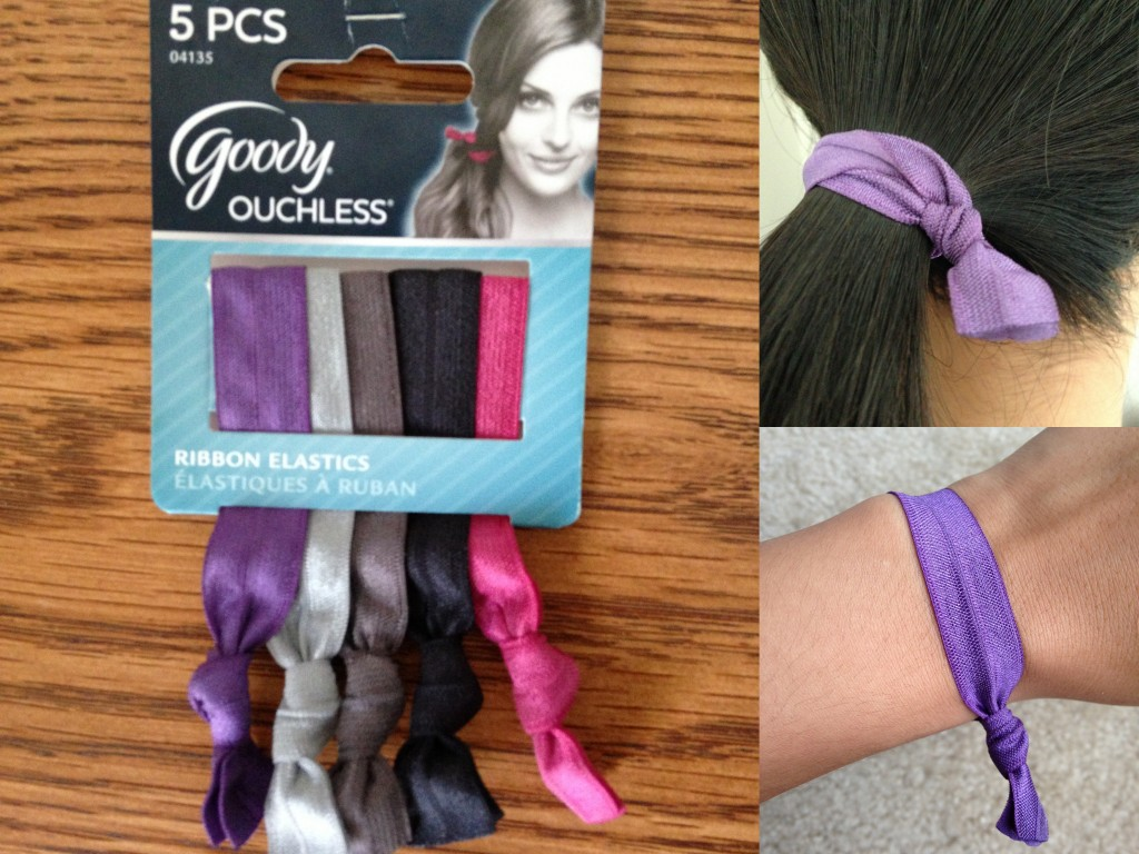 collage of goody ouchless ribbon elastics 5 piece