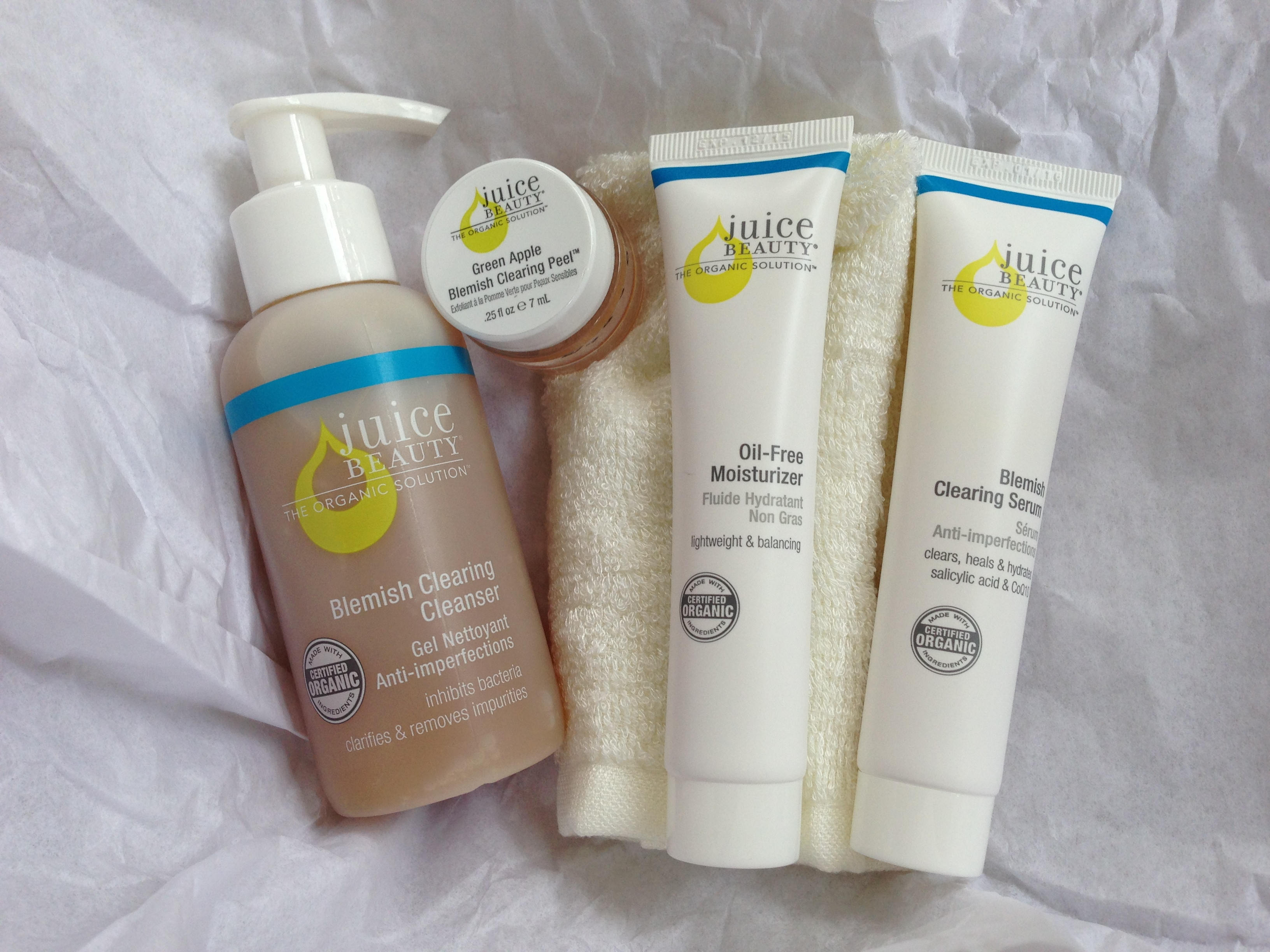 juice beauty blemish clearing kit