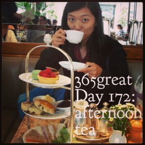 365great challenge day 172: afternoon tea