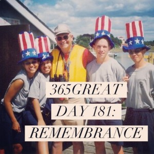 365great challenge day 181: remembrance
