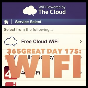 365great challenge day 175: wifi