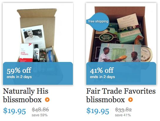 blissmobox valentine's day sale box choices naturally his and fair trade favorites