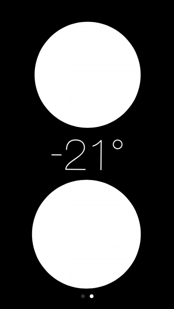 ios 7 inclinometer feature