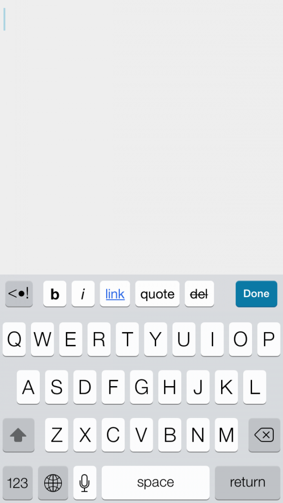 ios 7 new cleaner keyboard