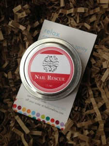 tin of scentsbyeilena nail rescue cuticle cream