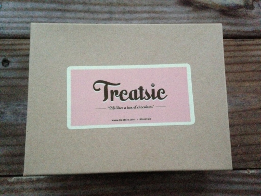treatsie box artisan candy subscription with new shiny sticker label