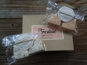 treatsie september box with katherine anne confections vanilla black pepper and cinnamon sugar marshmallows