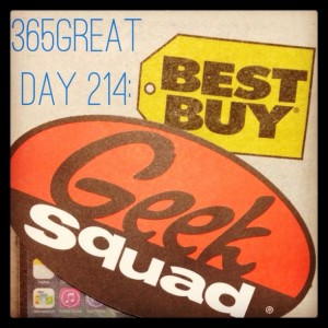 365great day 214: best buy/geek squad