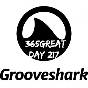 365great day 217: grooveshark