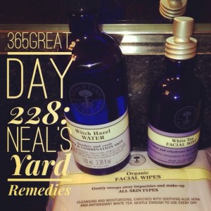 365great challenge day 228: neal's yard remedies