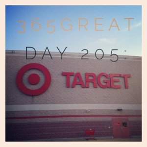 365great challenge day 205: target