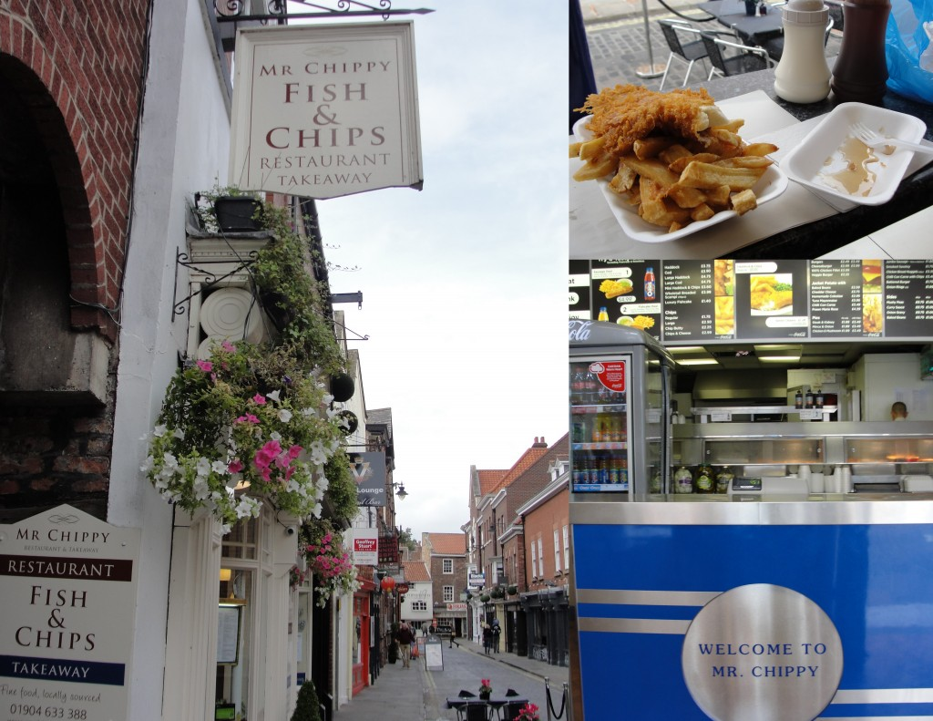 collage of mr chippy fish and chips shop