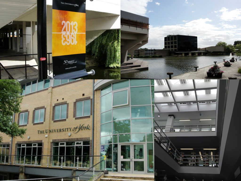 collage of university of york buildings