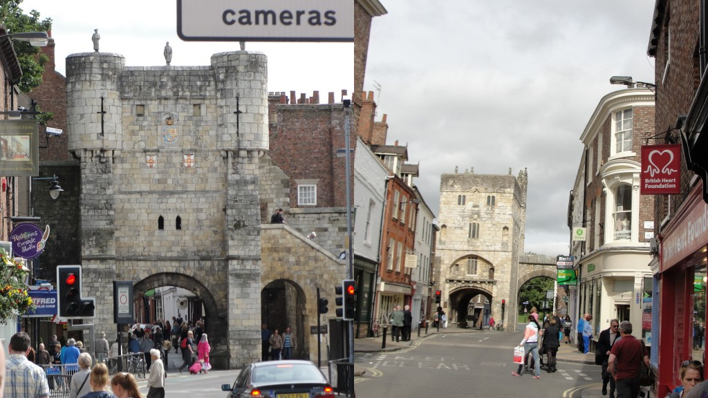 collage of york city walls