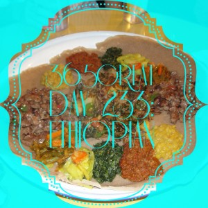 365great challenge day 233: ethiopian