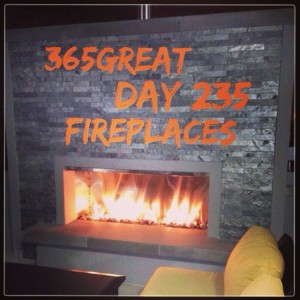 365great challenge day 235: fireplaces