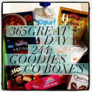 365great challenge day 244: goodies co boxes
