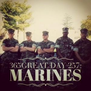 365great challenge day 257: marines