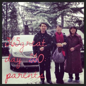 365great challenge day 260: parents