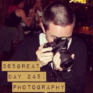 365great challenge day 245: photography