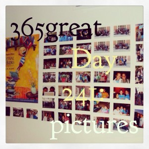 365great challenge day 241: pictures