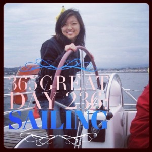 365great challenge day 236: sailing