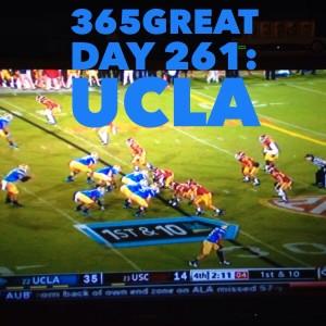 365great challenge day 261: ucla