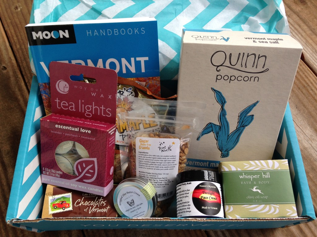 escape monthly november vermont box products showing