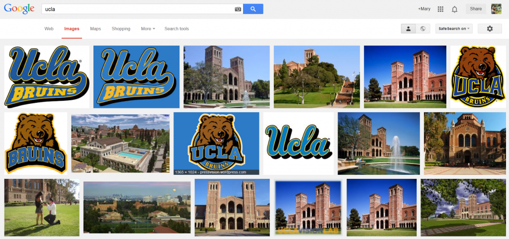 google images search results for ucla