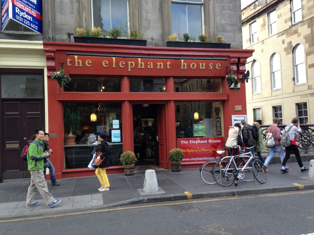 the elephant house in edinburgh's storefront