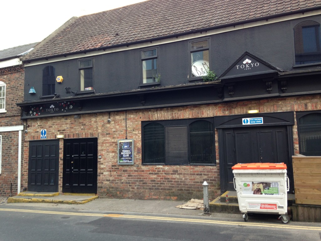old toff's club in york now rebranded tokyo