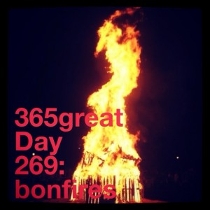 365great challenge day 269: bonfires