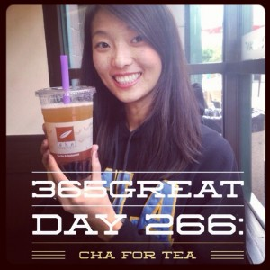 365great challenge day 266: cha for tea