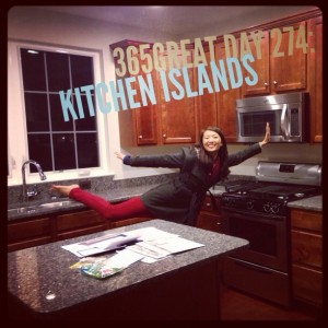 365great challenge day 274: kitchen islands