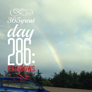 365great challenge day 286: rainbows