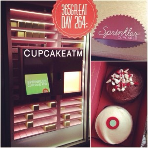 365great challenge day 264: sprinkles cupcakes