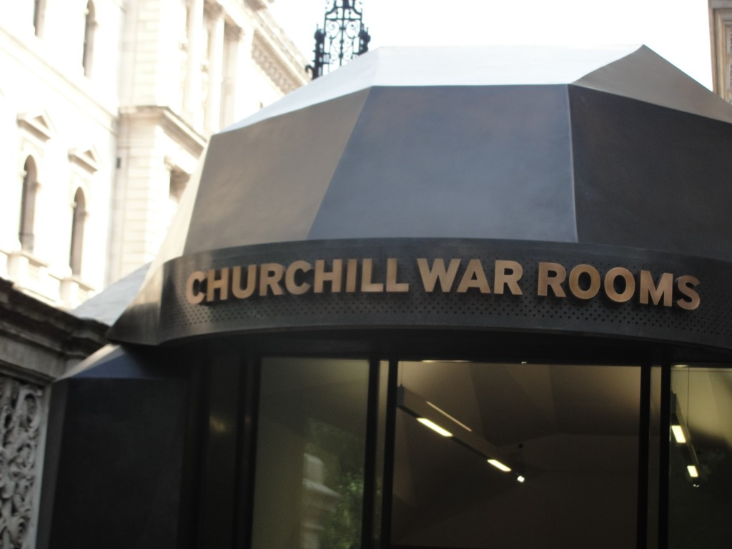 churchill war rooms entrance