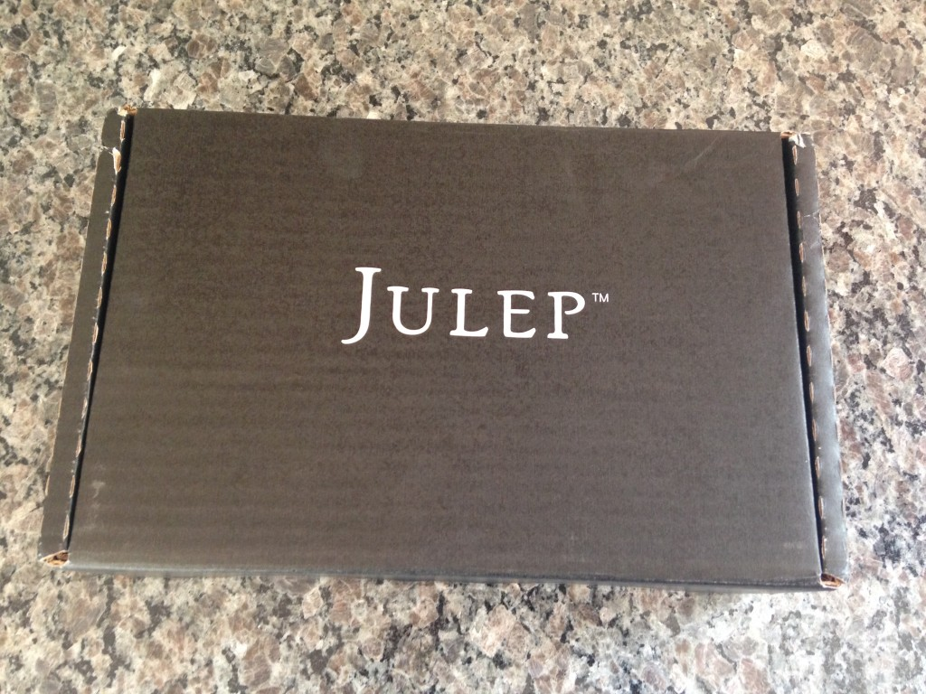 julep black cardboard box