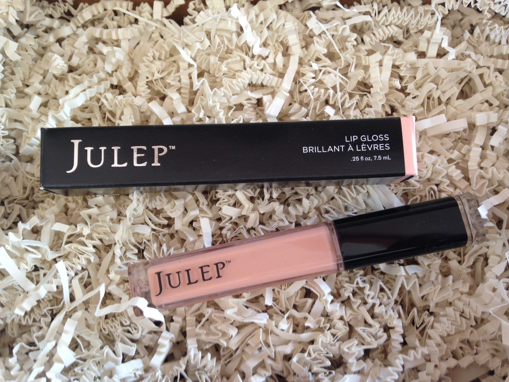 julep lip gloss in timeless shade