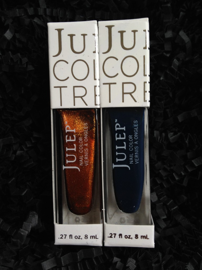 set of julep polishes in tatiana and michelle