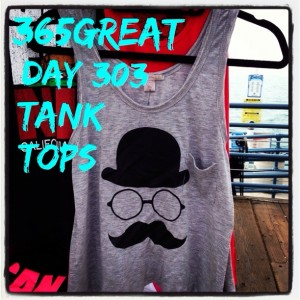 365great challenge day 303: tank tops